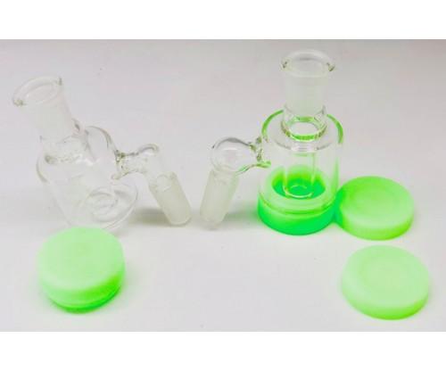 SILICONE/GLASS CATCHER(1Q=2PC)($5/each)